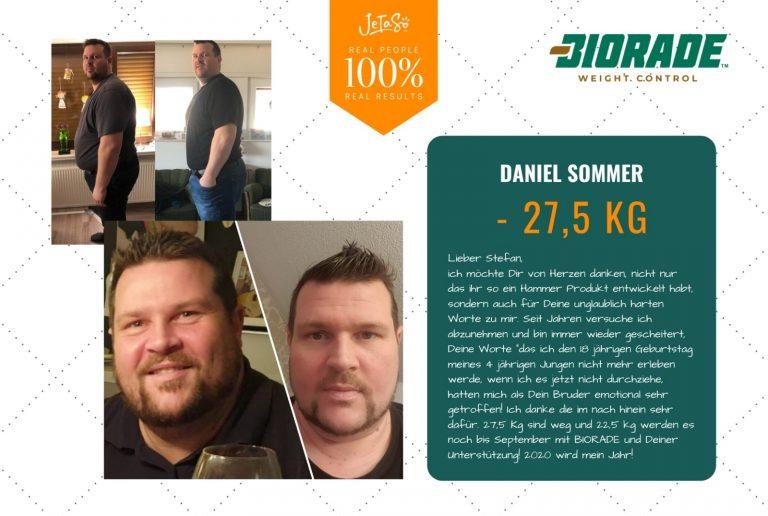 Biorade Nutzer Daniel Sommer