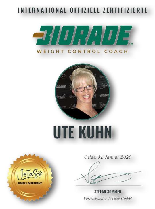 Biorade-Coach Ute Kuhn