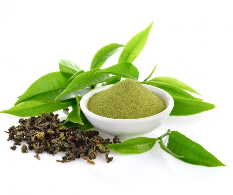 Grüner Tee Canva