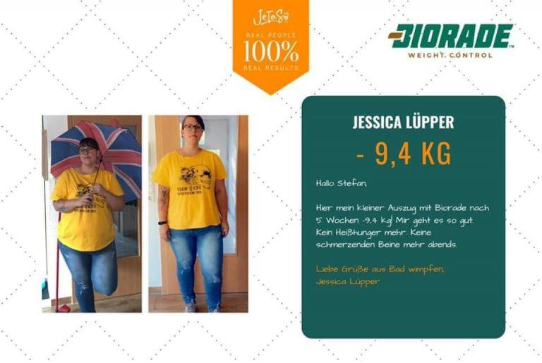Jessica Lüpper 9,4 kg