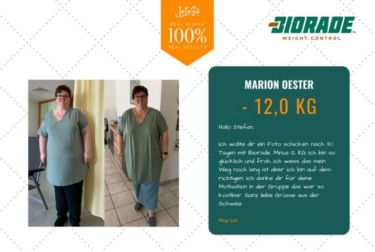 Marion Oester 12kg