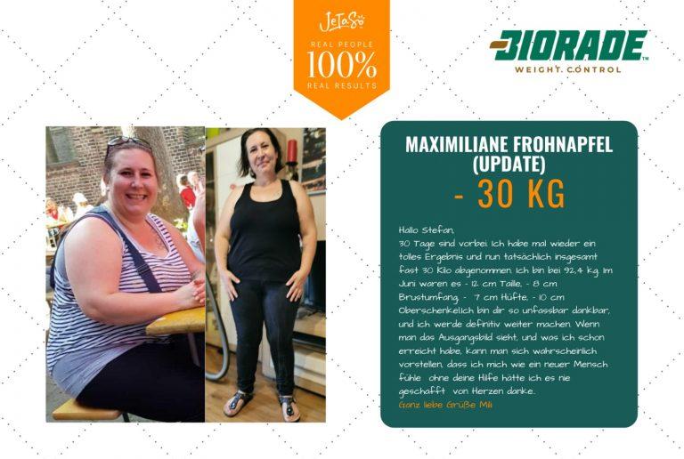 Maximiliane Frohapfel 30kg