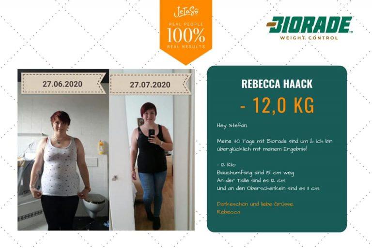 Rebecca Haack 12kg