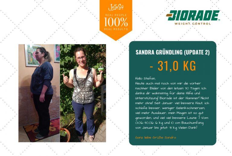 Sandra Gründling 31,0kg