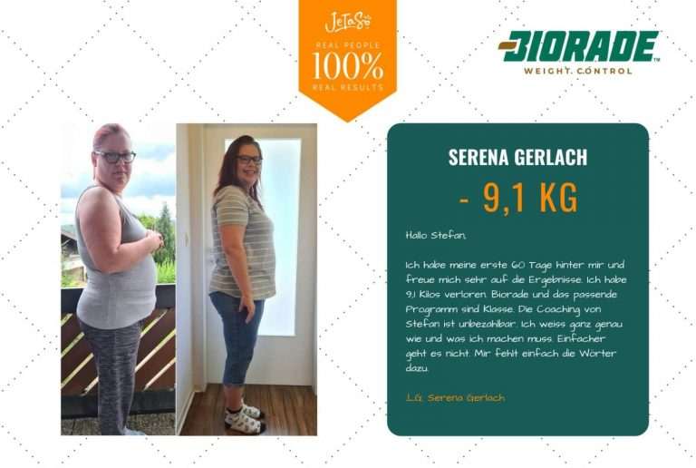 Serena Gerlach 9,1 kg